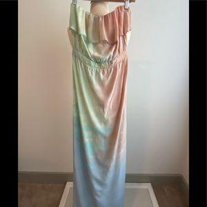 GYPSY- Tie Dyed Maxi Dress Sz XS